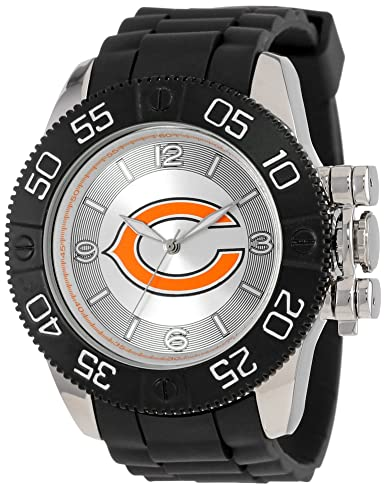 074902f9e2e Game Time Men's 'Beast' Quartz Metal and Polyurethane Casual Watch,  Color:Black
