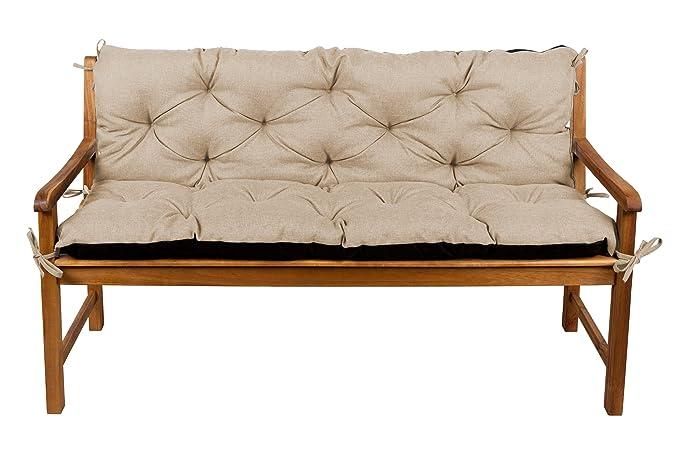 Cuscino per panca beige
