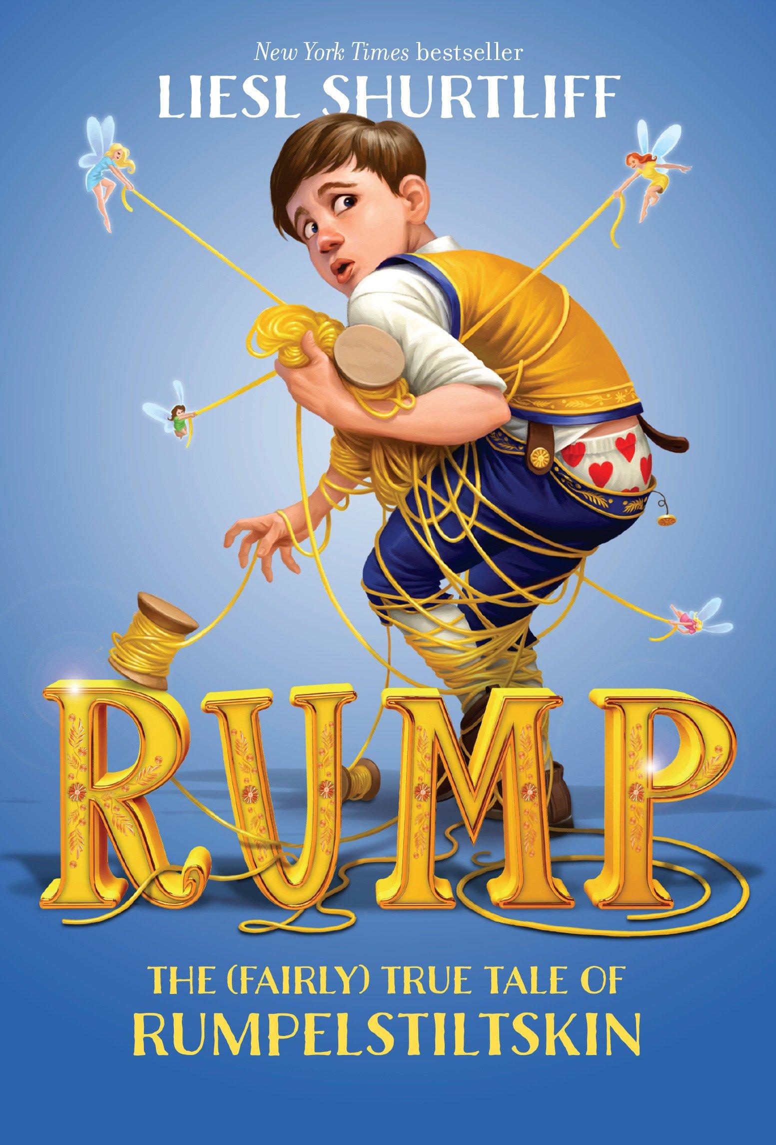 Download Rump: The (Fairly) True Tale of Rumpelstiltskin PDF