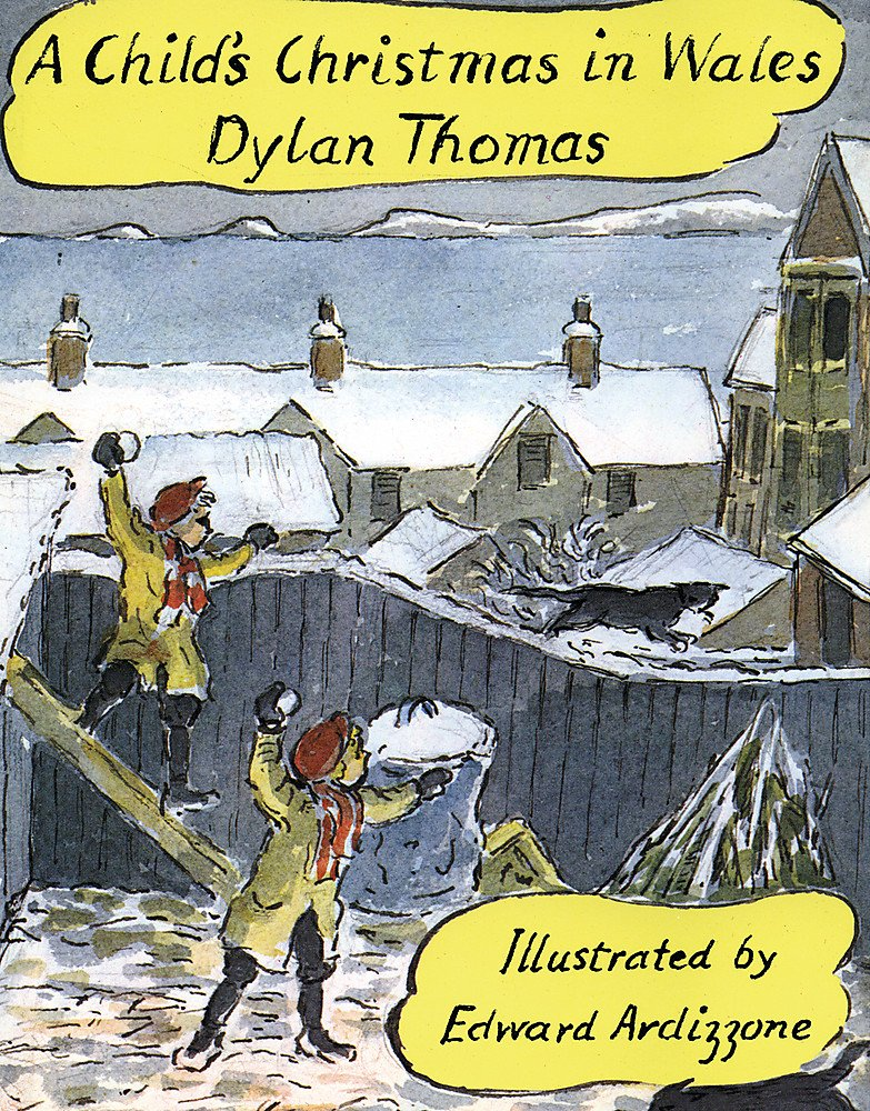 A Childs Christmas In Wales.A Child S Christmas In Wales Amazon Co Uk Dylan Thomas