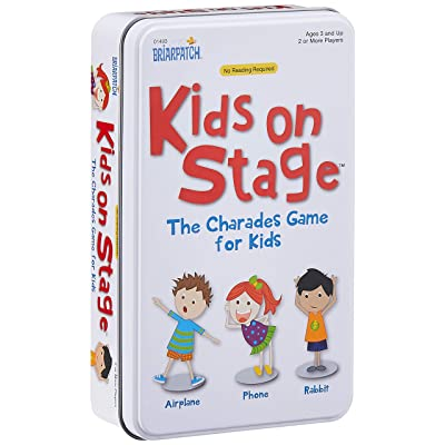 Charades Kids on Stage Tin: Toys & Games [5Bkhe1905990]