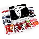 Bissinger's Gummy Pandas 7-Flavor Variety: One 3 oz Bag Each in a BlackTie Box (7 Items Total)
