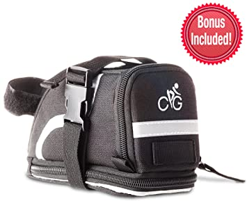 Saddle Bag/Bolsa de bicicleta | correas para su asiento con ...