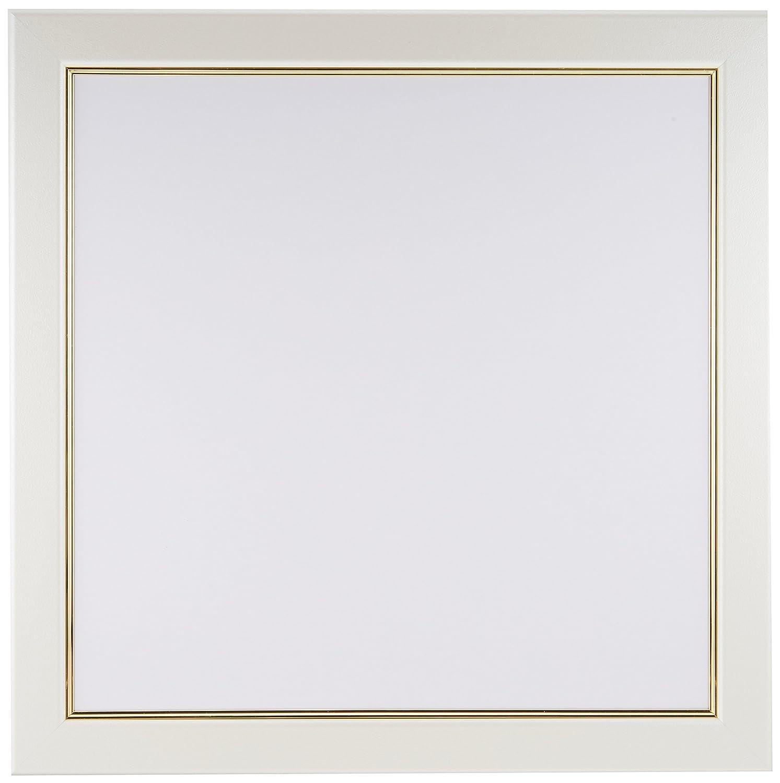 アルナ アルミ 額縁 正方形 「CF 面金付」 ホワイト 350x350 15575 B06XHXT4PJホワイト【面金付】 350x350