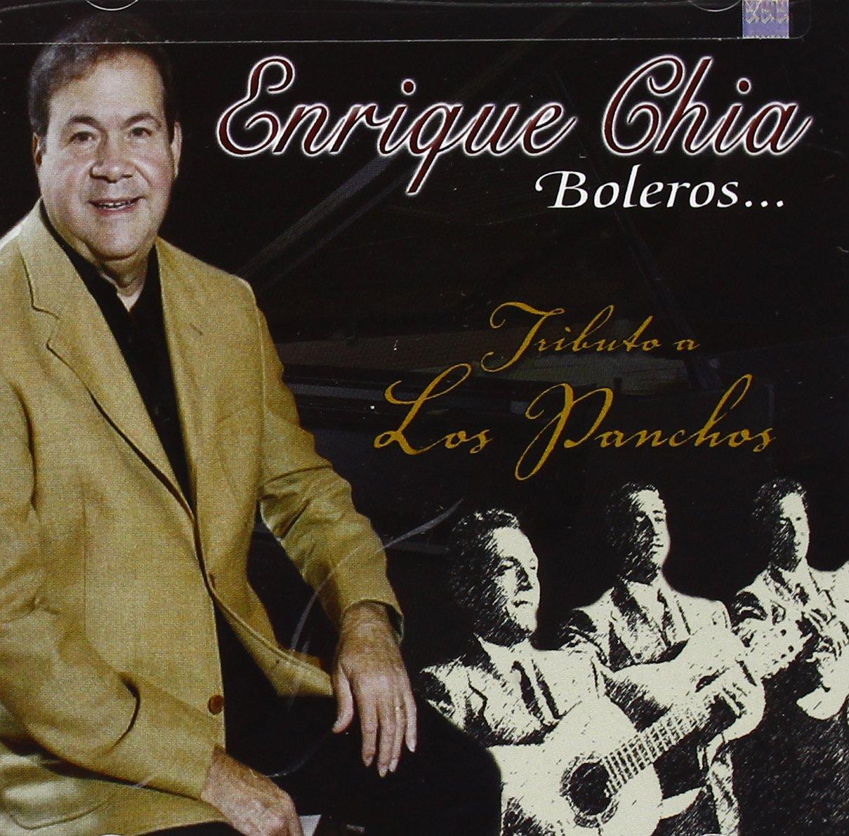 CD : Enrique Chia - Boleros: Tributo A Los Panchos (CD)