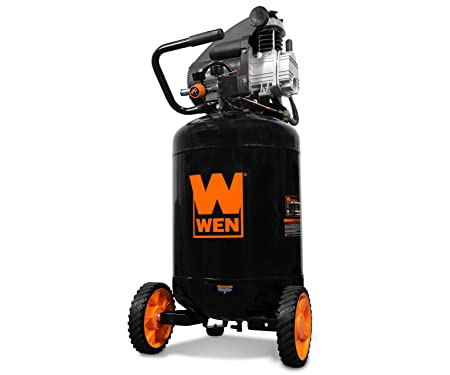 WEN 2202 Oil-Lubricated Portable Vertical Air Compressor