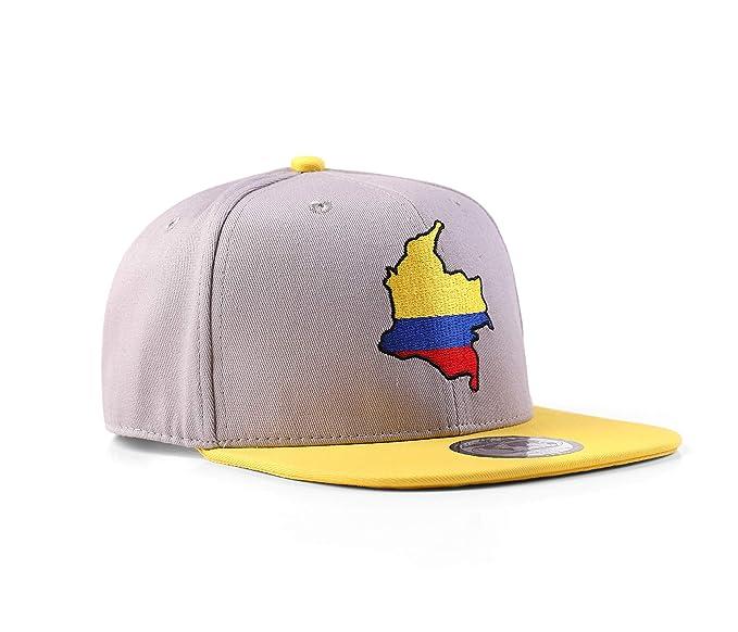 UNDERGROUND KULTURE Colombia Gorra de béisbol del Snapback: Amazon.es: Ropa y accesorios