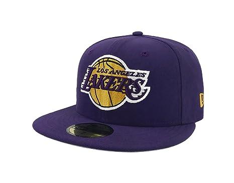 low priced bbbff 20b64 ... storekvalitetsgarantisalg fremm switzerland new era 59fifty hat nba los  angeles lakers 1948 team superb purple fitted cap 7 ebay ...