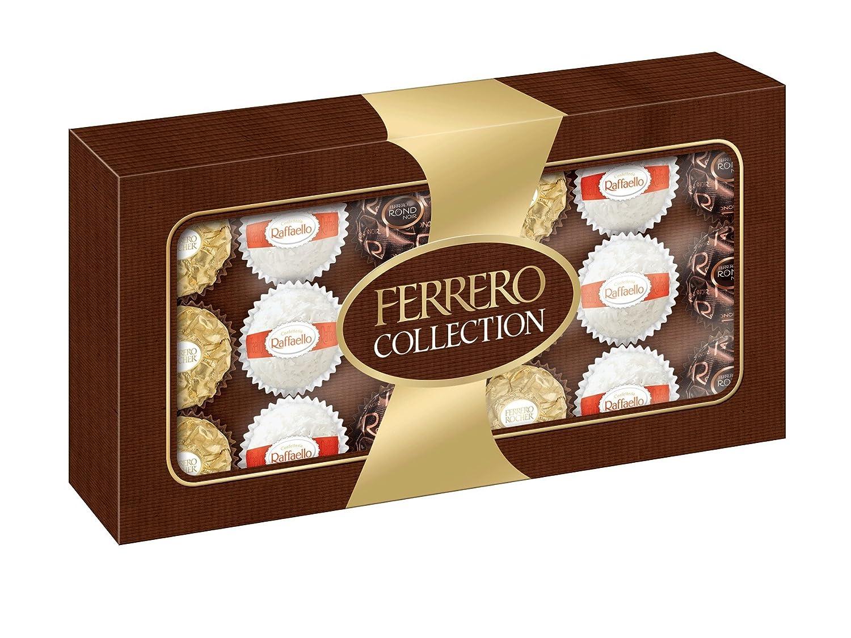 Ferrero Collection Diamond Gift Box 24 Piece Gourmet Rocher T24 Coklat 24pcs Food Grocery