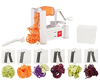 Paderno World Cuisine 6-Blade Vegetable Slicer