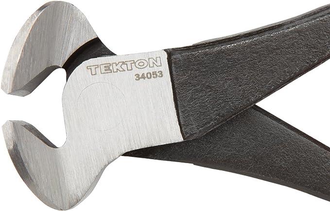 "Tekton 34053 8/"" End Cutting Nipper Pliers Cutters Non-Slip Grip Twin Blades"