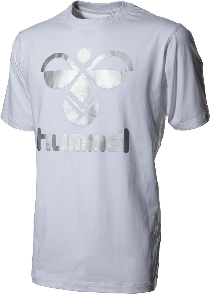 Human & Product Co Hummel - Camisa de Acampada y Senderismo Infantil, tamaño 122/128, Color Blanco: Amazon.es: Ropa y accesorios