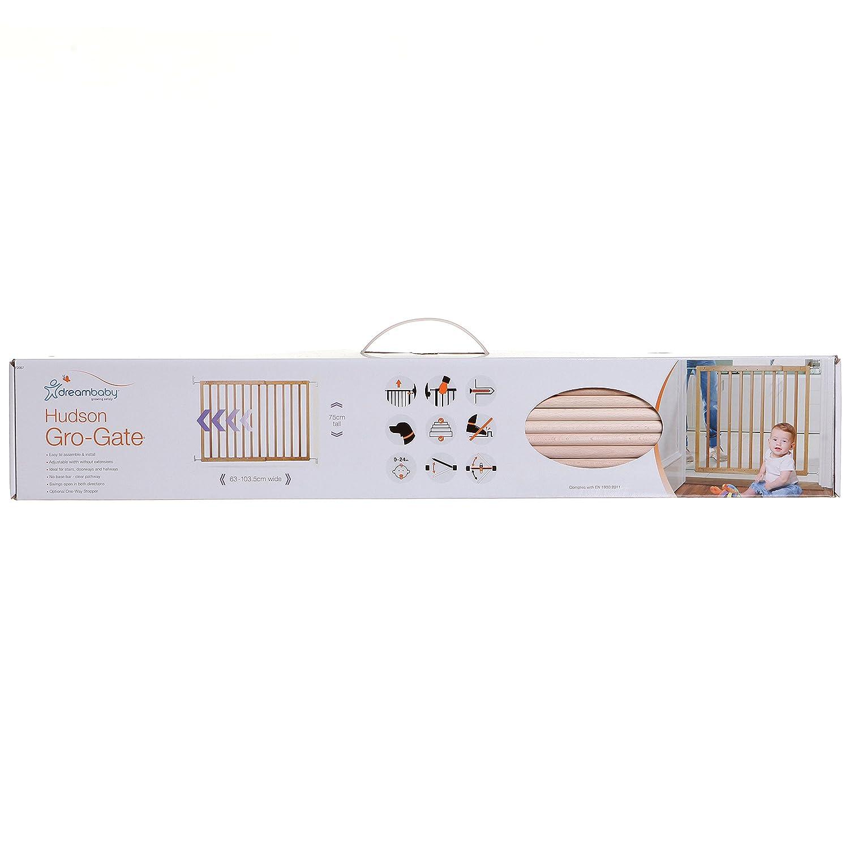 Dreambaby Barri/ère de s/écurit/é Hudson Gro-Gate 63-103.5cm