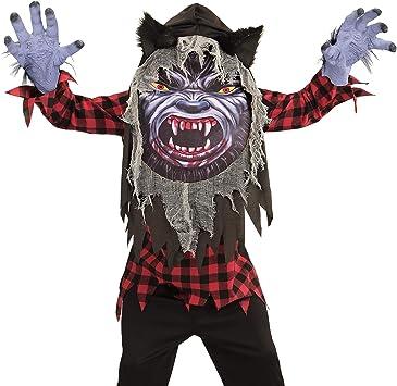 WIDMANN 07764 infantil Disfraz hombre lobo, 158 cm: Amazon.es ...