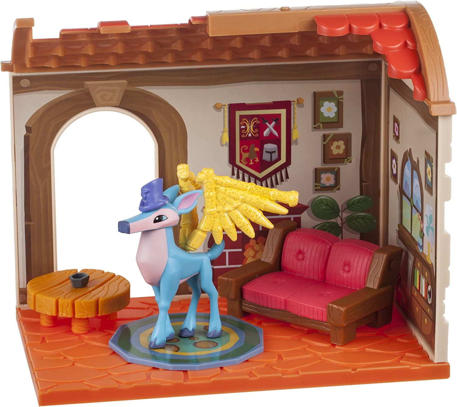 Good Animal Jam Christmas Houses Easy Small Den 2020 Play Wild Amazon.com: Animal Jam Small House Den with Limited Edition Winged