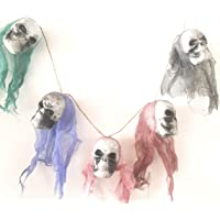 Wanna Party Halloween Skull Necklace