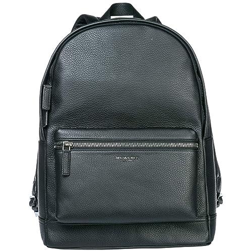 Michael Kors mochila bolso de hombre en piel nuevo bryant negro: Amazon.es: Zapatos y complementos
