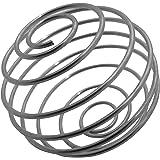 2 x gymadvisor MIXER BALL Stainless Steel Blender Whisk (Spare for Protein Shaker)
