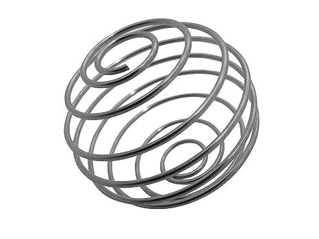 Batidora esférica de acero inoxidable de GymAdvisor ...