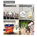 Deryun 80 Pack 8X3mm Refrigerators Magnets Fridge