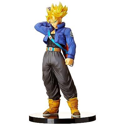 TAMASHII NATIONS Bandai FiguartsZERO EX Super Saiyan Trunks Dragon Ball Statue: Toys & Games