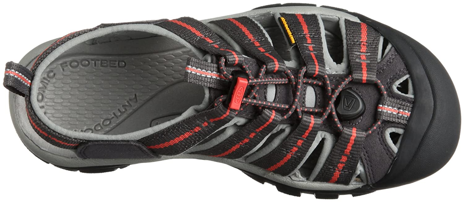 KEEN Women's Newport H2 Sandal B00E0GK9QU 7.5 B(M) US|Magnet/Hot Coral