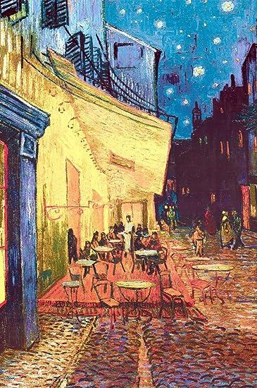 Amazon.com: Van Gogh (Cafe Terrace at Night) Art Poster Print ...