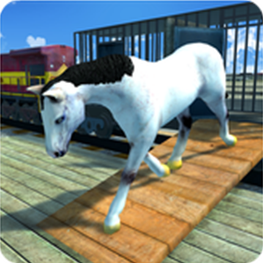 Horse Transportation Train -