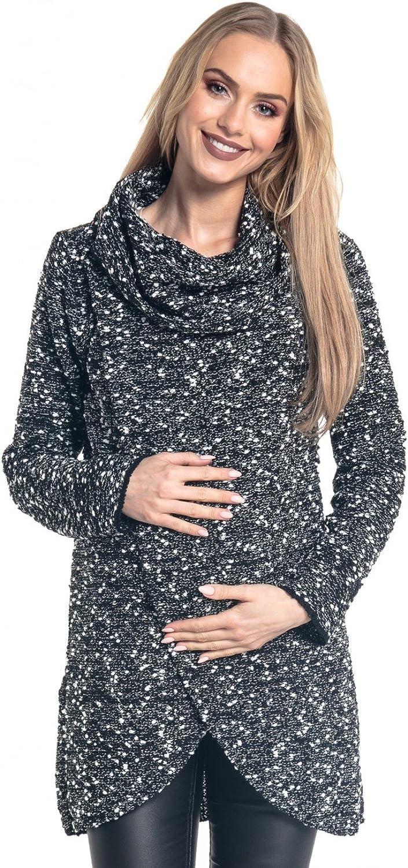 Happy Mama. Para Mujer Suéter Cruzado Diseño de Capa Premamá de Lactancia. 359p