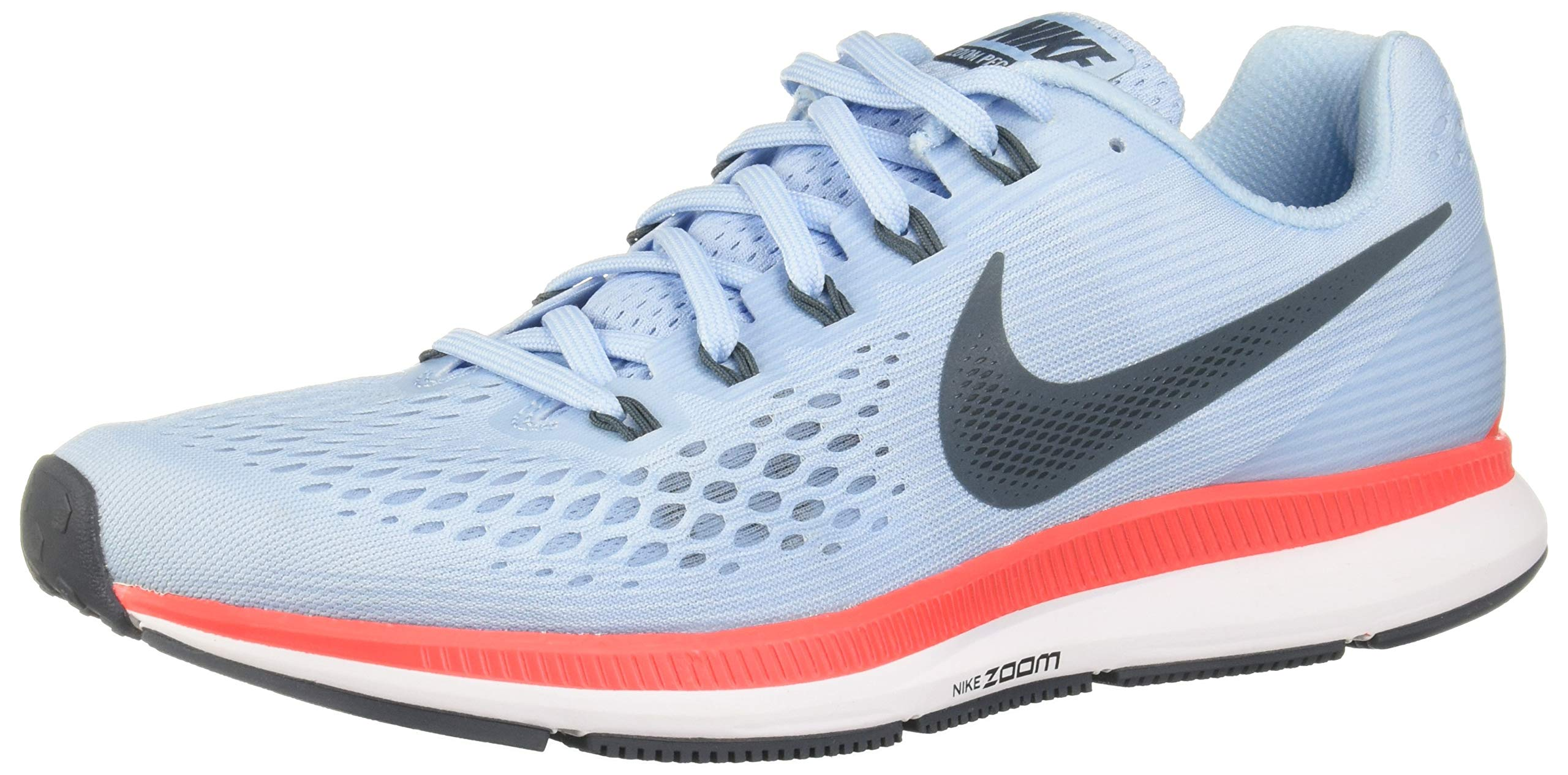 100% authentic 1e3da 9f037 Nike Men's Air Zoom Pegasus 34 Running Shoe Ice Blue/Blue Fox (9.5 D US)