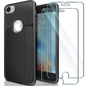 2ab6257b37d AROYI [2 Pack] iPhone 6 Cristal + Funda iPhone 6S, Carcasa & Protector