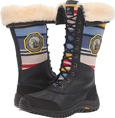 6ea5452df3b UGG Women's Adirondack Tall NP Yosemite Navy Shoe: Amazon.ca: Shoes ...