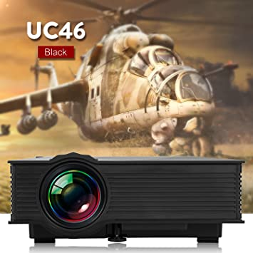 UC46 WIFI Mini Proyector Portátil LCD LED WEINAS® Multimedia USB ...