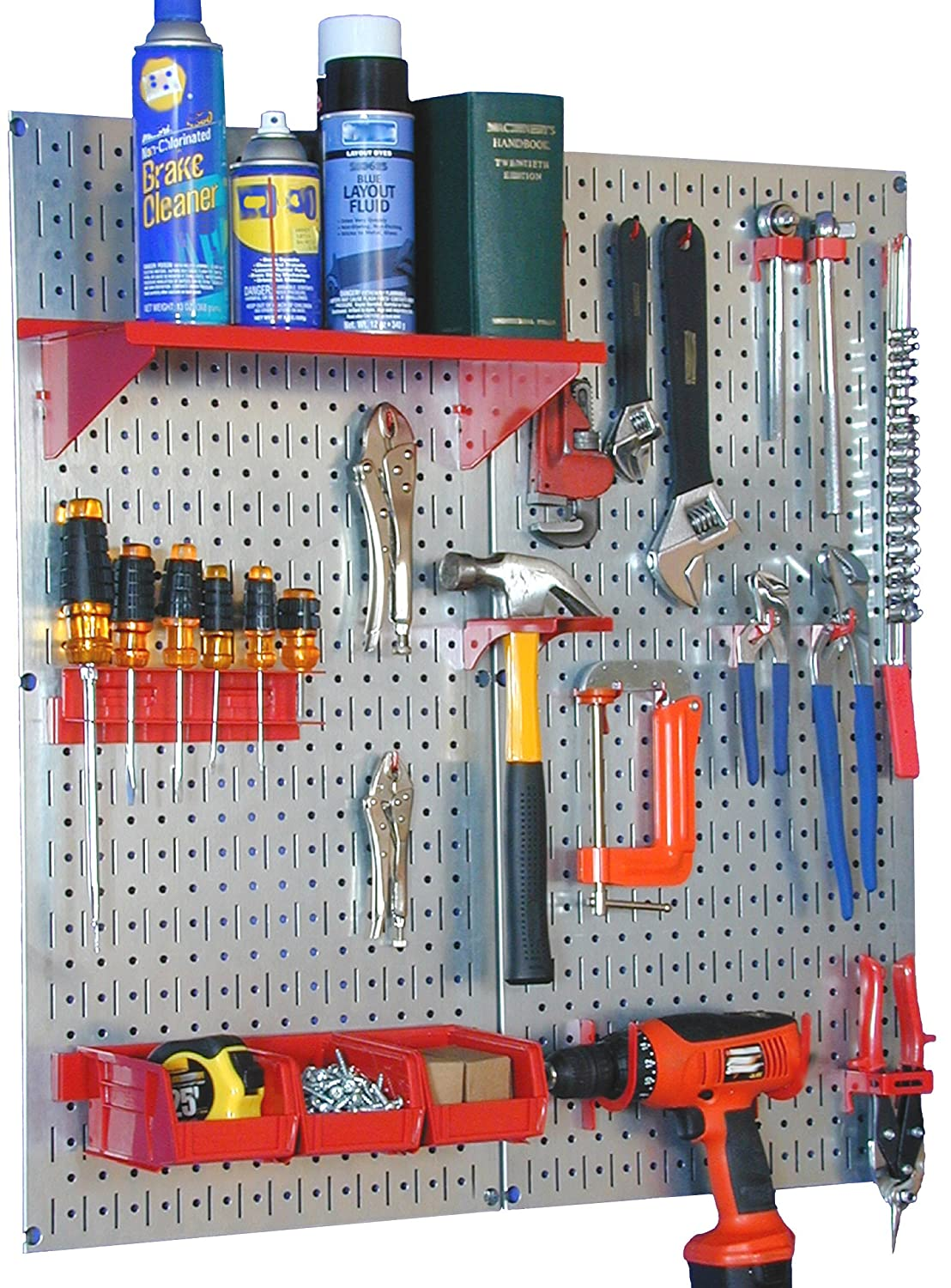 Amazon wall control 30 wgl 200gvr galvanized steel pegboard amazon wall control 30 wgl 200gvr galvanized steel pegboard tool organizer home improvement publicscrutiny Images