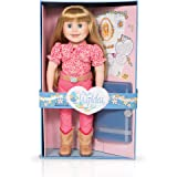 Maplelea Brianne 18 Inch Doll (long blonde hair with bangs, fair skin, blue eyes)