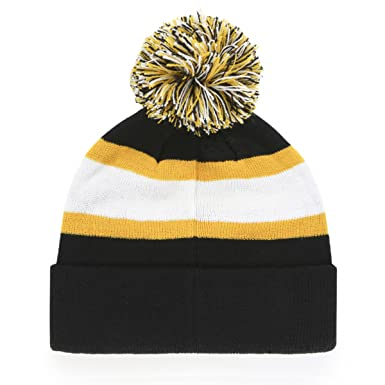 huge discount 35506 038e3 Amazon.com   NHL Minnesota North Stars Rush Down OTS Cuff Knit Cap with Pom,  Kelly, One Size   Clothing