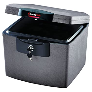 SentrySafe H4300 FIRE-SAFE Waterproof File, 0.68 Cubic Feet, Silver Gray