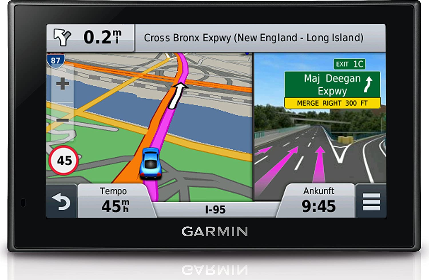 Amazoncom Garmin Nuvi LMT North America And Europe Cell - Us maps for garmin nuvi