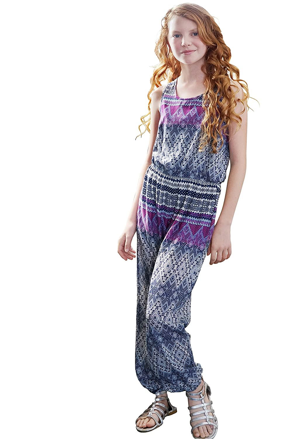 Truly Me, Girls' Charming Dungarees Jumpsuits Playsuits (Other Options), 7-16 Years