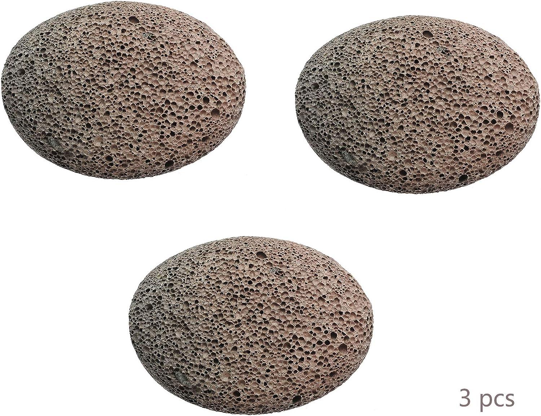 QINAIDI 3 Piezas de Piedra pómez para Pieles muertas, maíz, Callos ...