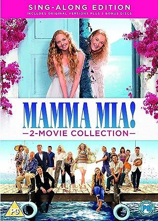 Mamma Mia 2 Movie Collection Dvd 2018 Amazoncouk Amanda