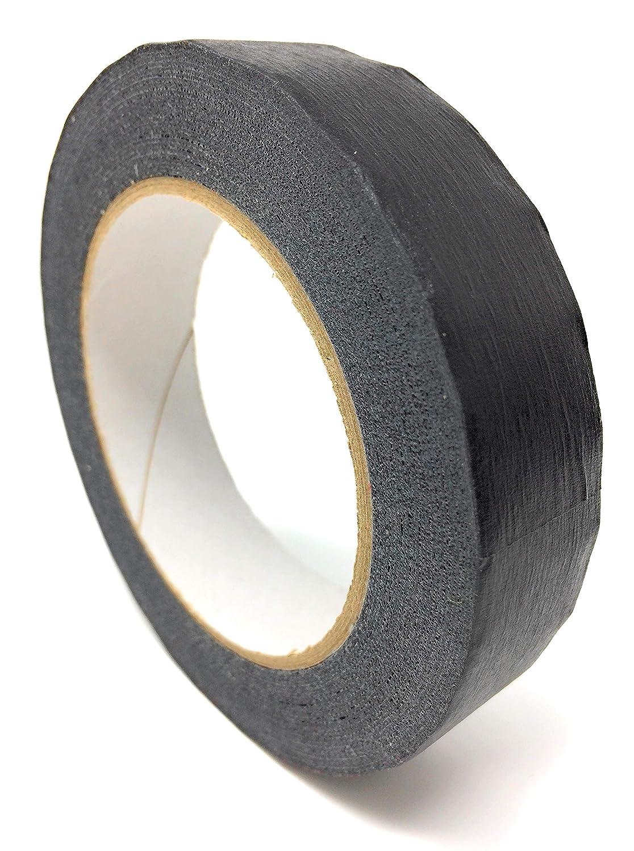 Kreppband schwarz /• Qualit/äts Kreppband /• 25mm x 50m