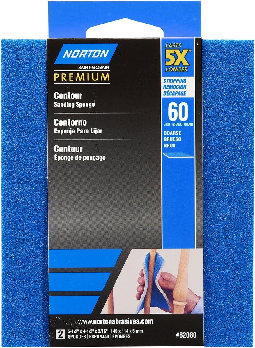 Norton 82080 5X 60 Grit Contour Sanding Pads