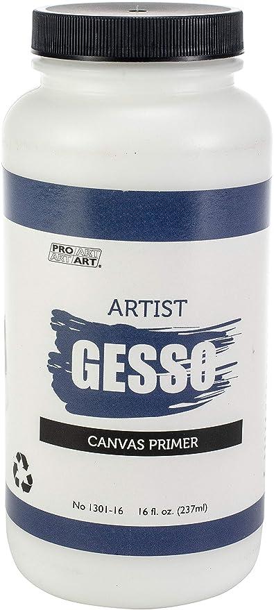 Pro Art Premium Gesso Canvas Primer Other Painting Supplies Crafts