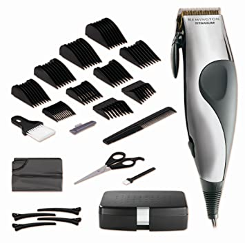 Amazon Remington Hc 921 Titanium Precisionpro Deluxe 22 Piece