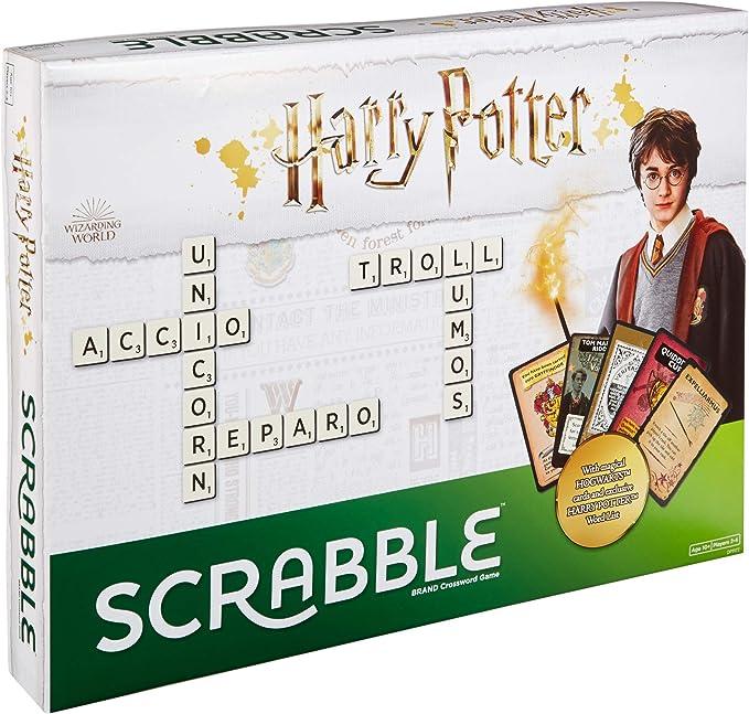 SCRABBLE Harry Potter DPR77 edición Juego: Amazon.es: Juguetes y juegos
