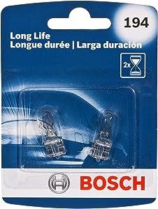 Bosch 194 Long Life Upgrade Minature Bulb, Pack of 2