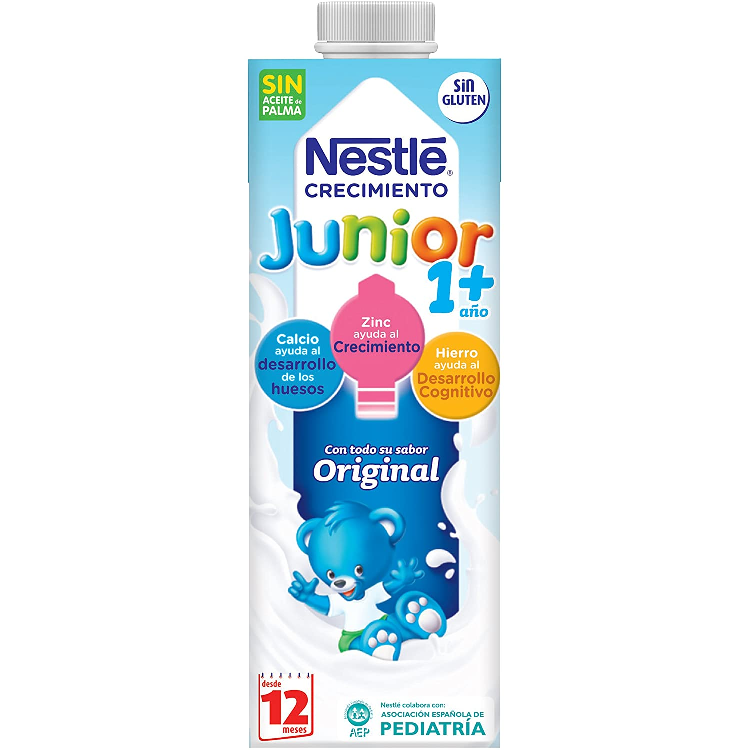 Amazon.com : NESTLE JUNIOR CRECIMIENTO 1+ BRIK 1 L : Grocery & Gourmet Food