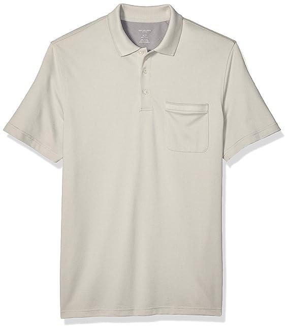 Van Heusen Mens Big Flex Short Sleeve Stretch Solid Polo Shirt ...