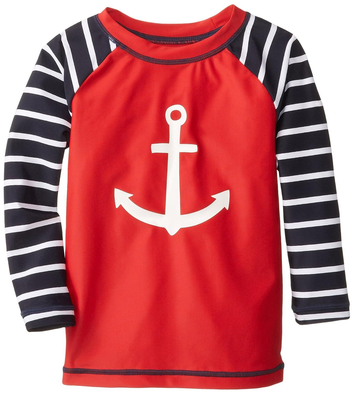 Hatley Little Boys' Nautical Anchor Rash Guard BS4ANCH001